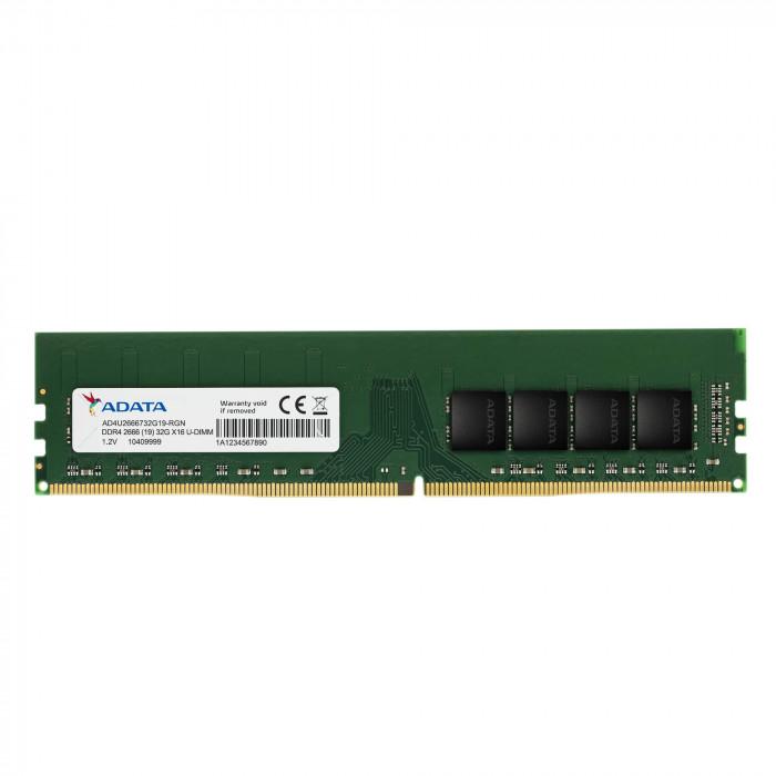 ADATA | ذاكرة | ذاكرة سطح المكتب DDR4 2666 ميجا هرتز 16 جيجا بايت | AD4U266616G19-SGN
