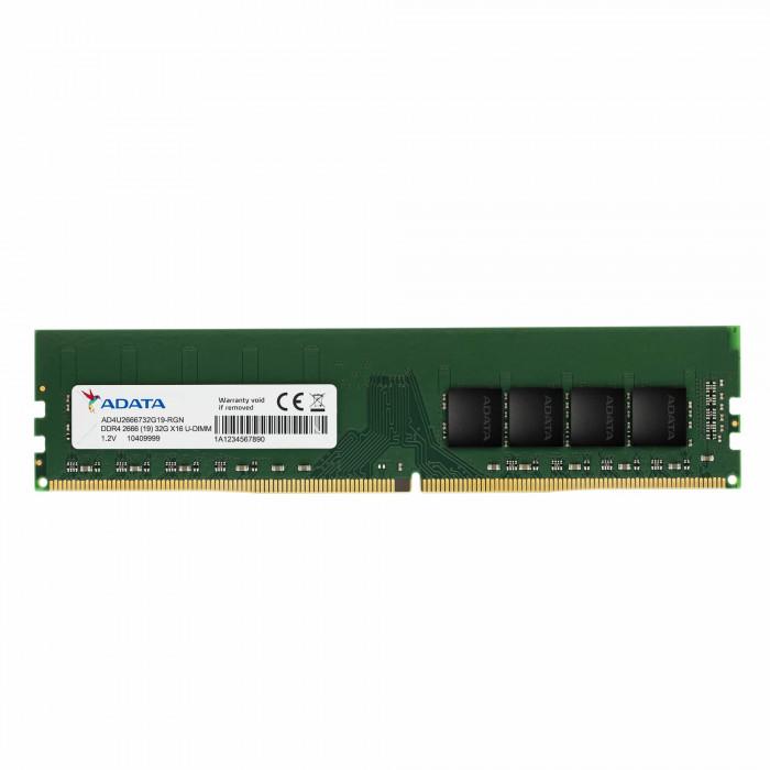 اداتا    بطاقة ذاكرة   DDR4 2666MHz 4GB Desktop Memory  AD4U26664G19-SGN