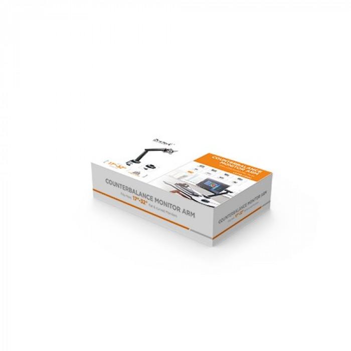 Twisted Minds   ذراع وحامل شاشة للألعاب أحادية مع USB   LDT39-C012U