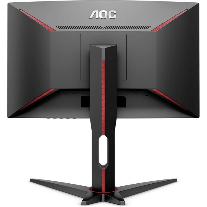 "AOC | شاشة الألعاب | C27G1 27 ""Curved Frameless FHD 1080p، 1800R VA panel، 1ms 144Hz | C27G3"