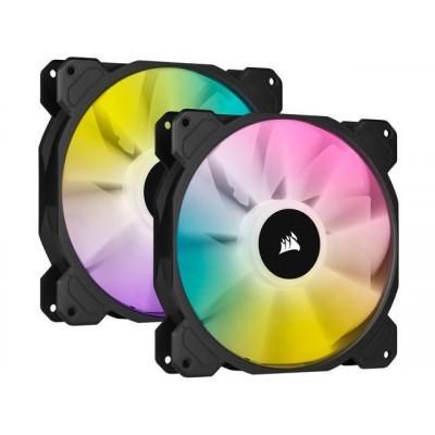 كورسير  |مروحة | iCUE SP140 RGB ELITE Performance 140mm PWM Dual Fan Kit with Lighting Node CORE | CO-9050111-WW