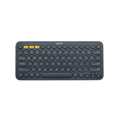 لوجيتك  | لوحة مفاتيح بلوتوث متعددة  - Grey | 920-010070