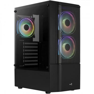 ايروكوول | صندوق الكمبيوتر | Quantum Mesh Black -  Mid Tower, ATX/micro ATX/mini-IT | Quantum Mesh-G-BK-V3