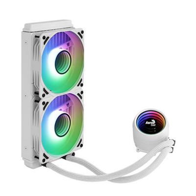 ايروكوول | مبرد الوحدة المركزية | Mirage L240 240MM ARGB Liquid Cooler - White | Mirage L240 WH