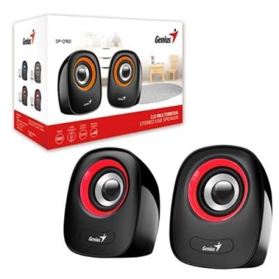 جينيس | مكبرات الصوت | Speaker SP-Q160 Red USB Power| 31730027401