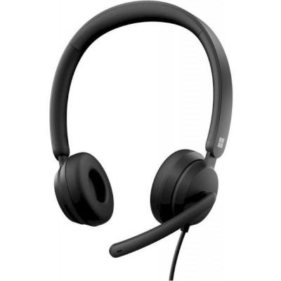 سماعة رأس | مايكروسوفت | Modern USB Headset Black |6ID-00021