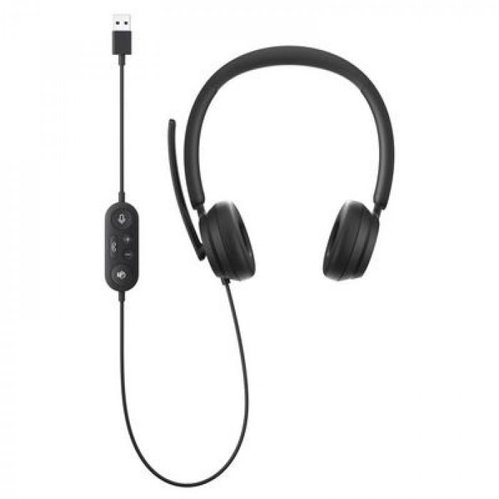 سماعة رأس   مايكروسوفت   Modern USB Headset Black  6ID-00021
