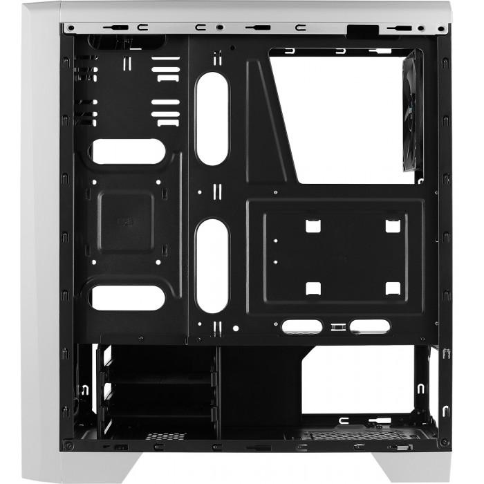 مجموعة 1    صندوق للكمبيوتر Cylon White RGB Mid Tower  مع مبرد الوحدة المركزية السائل Mirage L240240MM ARGB  - أبيض