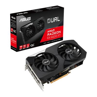 اسوس  | كرت شاشة | Dual Radeon™ RX 6600 XT OC Edition 8GB | 90YV0GP0-M0NA00