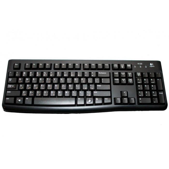 Logitech من MK120 لوحة مفاتيح