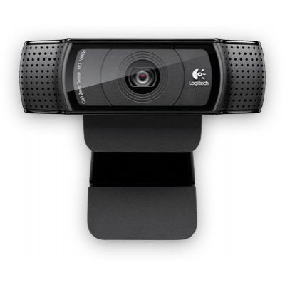 Logitech C920 HD Pro 720p HD Webcam كاميرا - أسود