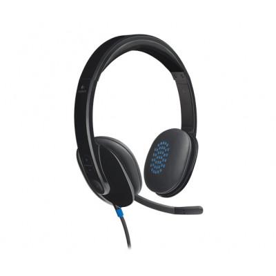 Logitech H540 USB Headset, Black