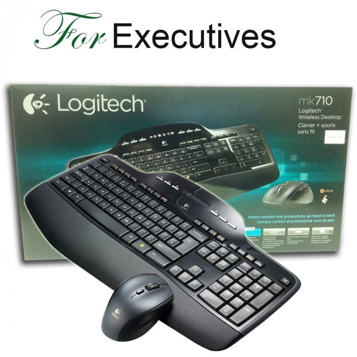 Logitech من MK710  (مجموعة (كيبورد وماوس