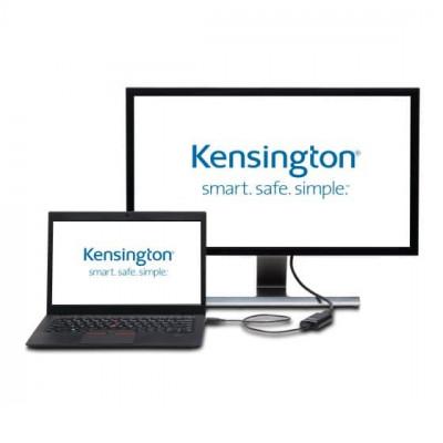 محول الفيديو K4 لعرض VU4000D USB 3.0 كنسينغتون
