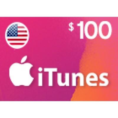 بطاقة آيتونز بقيمة 100 دولار متوافقة مع الستور الأمريكي (تسليم الكود عبر البريد الإلكتروني) السعر شامل لضريبة القيمة المضافة