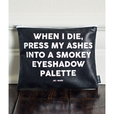 Smokey Eye Zip Pouch