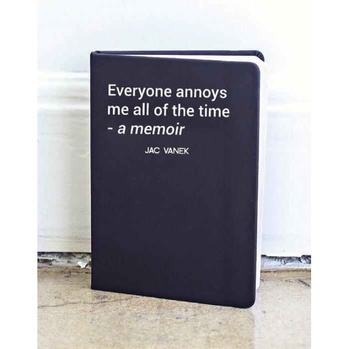 Jac Vanek Notebook
