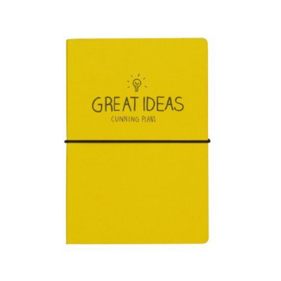 A5 دفتر – Great Ideas (Yellow)