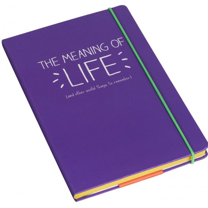 A5 دفتر - The Meaning Of Life