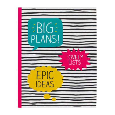 مذكرة – Big Plans Stripes