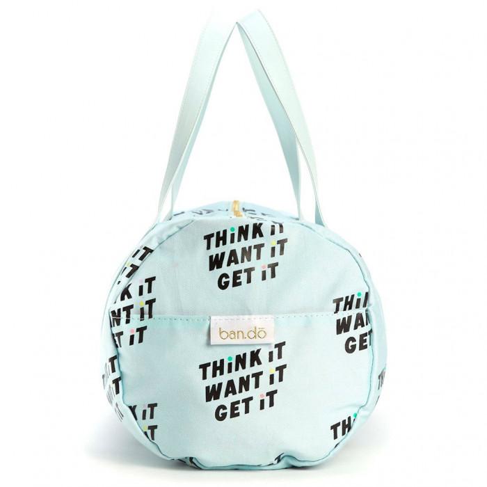 حقيبة رياضية للجيم من بان.دو  - Think it, want it , get it